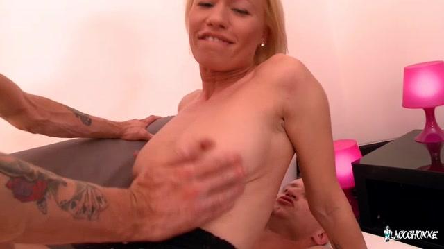 Lacochonne slutty french babe loves double penetration 4