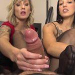 Watch Porn Stream Online – The Foot Fantasy presents Stefania Mafra, Reagan Lush in Office Bitch Pantyhose Footjob (MP4, FullHD, 1920×1080)