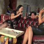Watch Porn Stream Online – Dirty Dommes – Nasty human ashtray part 2. Starring Mistress Courtney and Fetish Liza (MP4, HD, 1280×720)