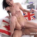 LegalPorno presents Russian Anal Casting Nika Charming welcome to porn with Balls Deep Anal, Rough Sex, ATM, Cum in Mouth GL079 – 21.10.2019
