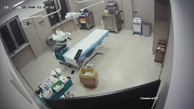 Voyeur - Real hidden camera in gynecological cabinet 8 00007