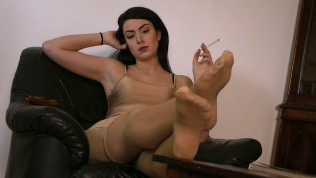 Ballerinas Flip Flops and more - LadyKatharinaStockingsPov 00000