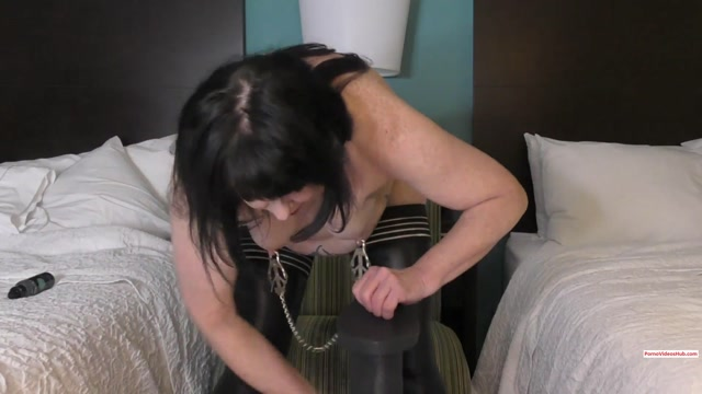 Dirtygardengirl - Anal Riding with Nipples Clamped – $10.99 (Premium user request) 00008