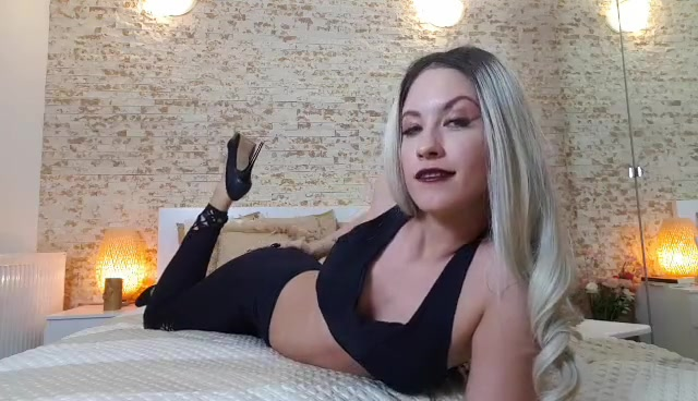 Goddess Natalie - JOI challenge how fast can you cum 00014