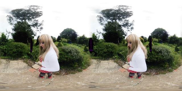 The English Mansion - Tiffany Real Doll - Peeping Pervert – VR 00003