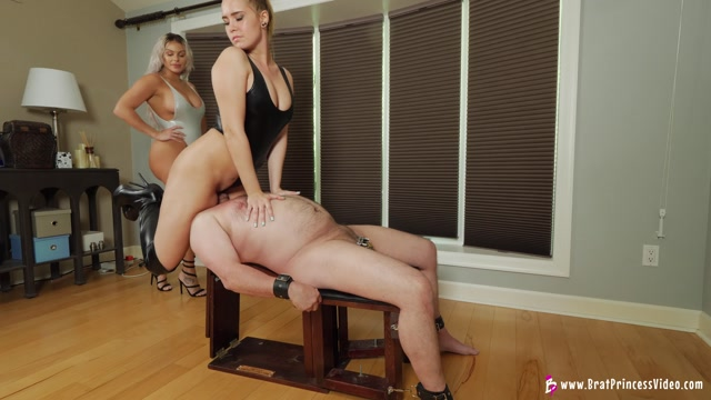BRAT PRINCESS 2 - Becky and Natalya - SMOTHER THEIR SLAVE 00006