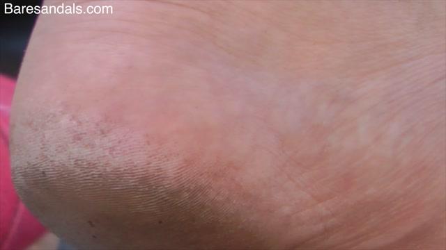 Baresandals Feet 4K and HD Clips - Cute red hair girl dirty feet in flip flops candid - Update 12426 00010