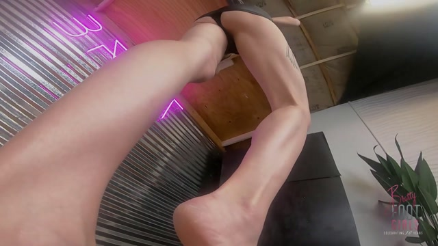 Bratty Foot Girls - Agatha Delicious - Super POV Trampling and Facestanding 00004
