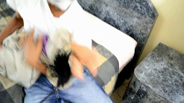 FunhouseClips - Asia Perez is Wrapped Up & Tickled! 00014