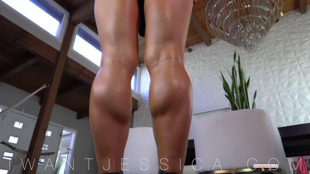 Goddess Jessica – Oiled Up Leg JOI – $13.87 (Premium user request) 00013