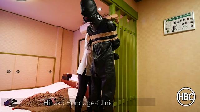 Hinako Bondage Clinic - Leather Suspension Hitachi Forced Orgasm 00003