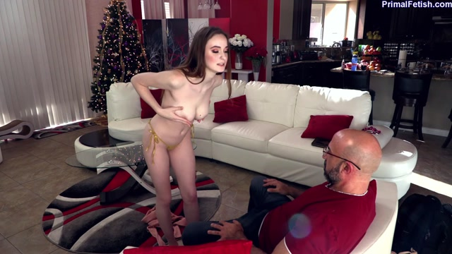 PrimalFetish presents Hazel Moore Step-Daughter Caught Stripping for Extra Cash 00003