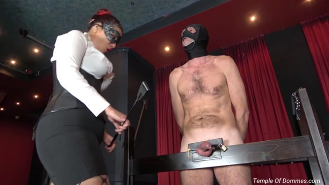 Temple of Dommes - The Day Will End With You Locked Up - Ball Abuse 00009