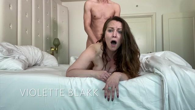 VioletteBlakk - Hot Couple Morning Creampie 00010