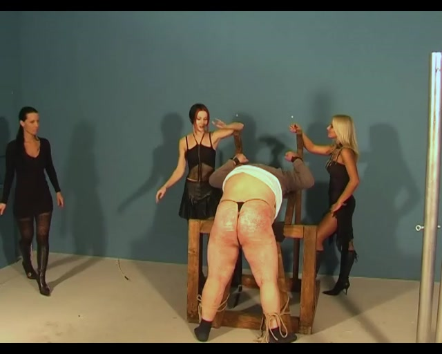 Cruel Amazons - Ladies in Black - Whipping and Caning 00009