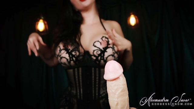 Goddess Alexandra Snow - Mysterious Cum Ritual 00005