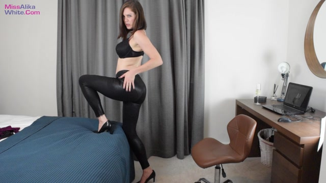 Miss Alika White - Want to Touch Your Cock. It