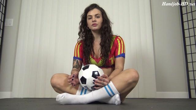 Soccer Girl Handjob For The Win - Roxie Rae Fetish - Keisha Grey 00001