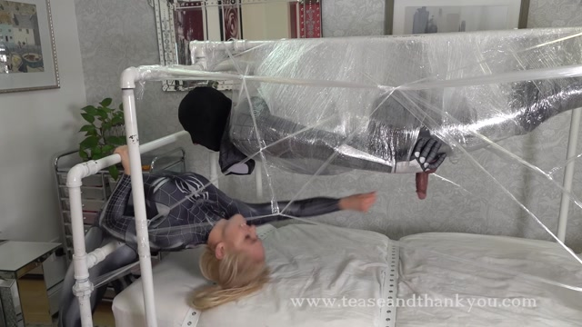 Tease and Thank You - Mandy Marx - Eat This Web Spider Man - Cum Eating 00014