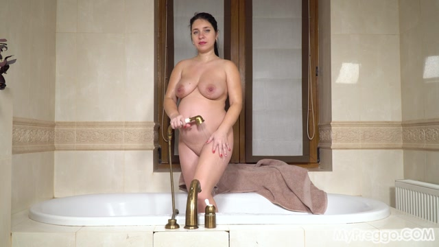 MyPreggo presents 2021-08-16 - Tanya 06 - Fun in the Bathtub Leads to Agonizing Contractions 00011