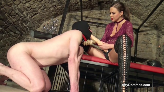 Brutal pegging by Tina Kay 00003