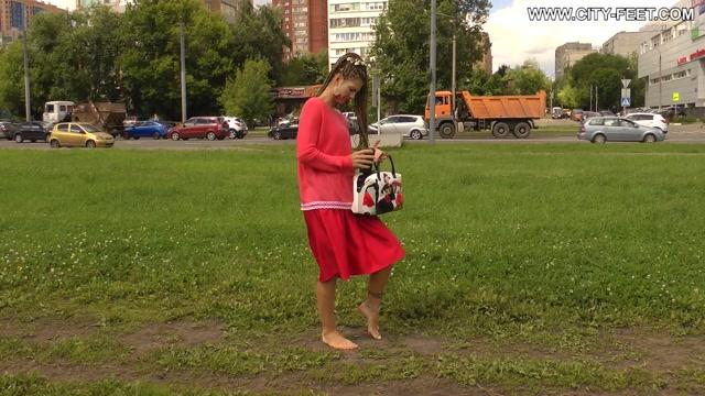 CityFeet - A summer barefoot day. Part 1. 00013