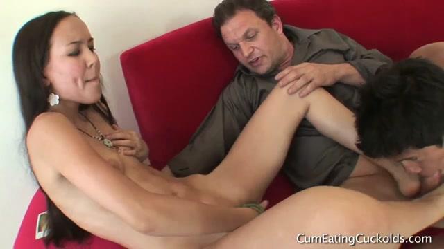 Cum eating cuckolds - Amai Liu - Husband humiliation all day 00009