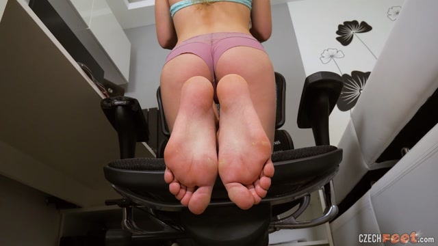 CzechFeet - 07-04-2021 Simca M. - Bare feet & Sniffing & Shoes 00014