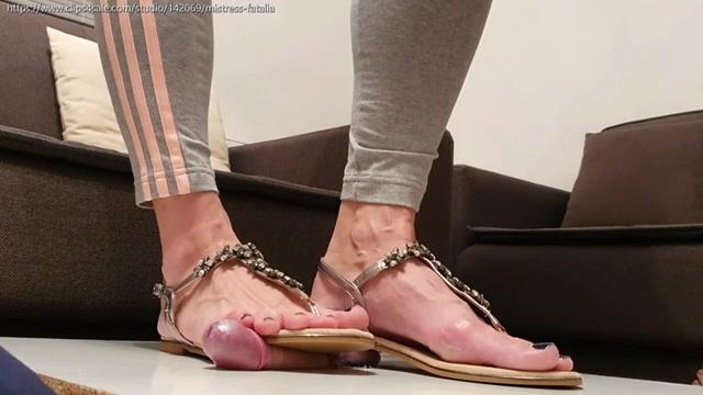 Embellished Sandals Torment – MISTRESS FATALIA 00006