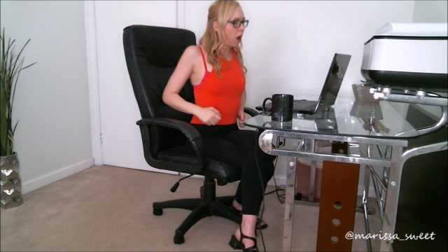 Marissa Sweet - Addicted To Watching Your Coworker 00000