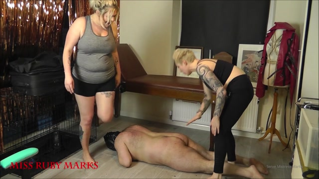 Miss Ruby Marks - Trampling The Pilates Butterball Part 1 00003