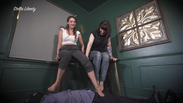 Mistress Stella Liberty In Scene: Foot Dommes – STELLALIBERTYVIDEOS 00007