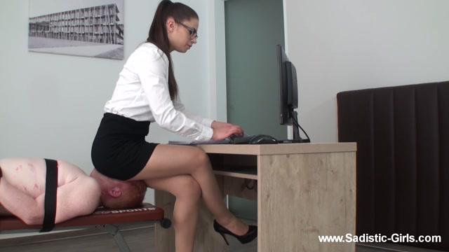 Sadistic-Girls - A Day As Secretary`S Ass Slave - Volume II 00005