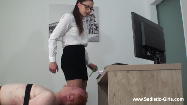 Sadistic Girls Pain Brutality - A Day as Secretarys Ass Slave - Volume II 00008