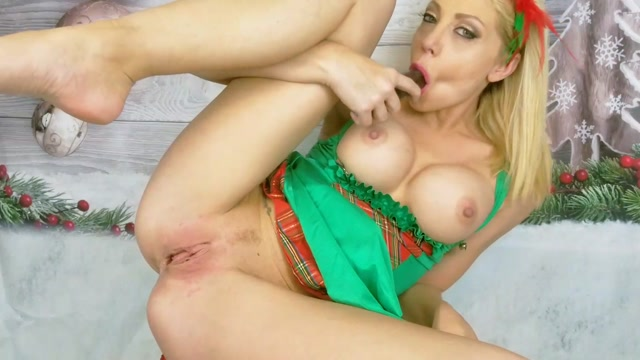 Shawnalenee Naughty Elf Cum Vid Christmas 00012