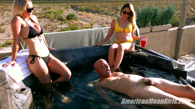The Mean Girls - Princess Skylar  Goddess Platinum - Waterboarded by the Mean Girls 00002