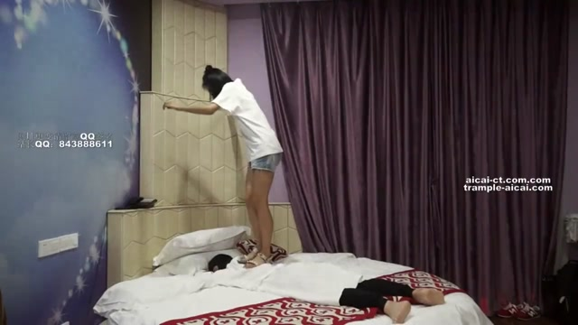 Asian Chinese femdom sandals trample and worship 00005