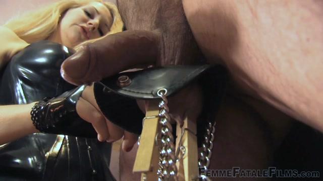 Femme Fatale Films, Mistress Eleise de Lacy, Pegged On The Wheel, Full Movie 00002