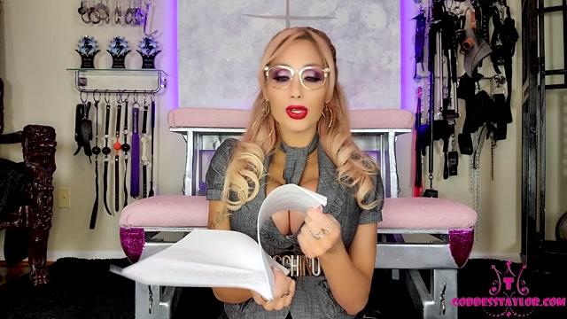 Goddess Taylor Knight - 2021 Legal Debt Agreement Entrance fee 00008