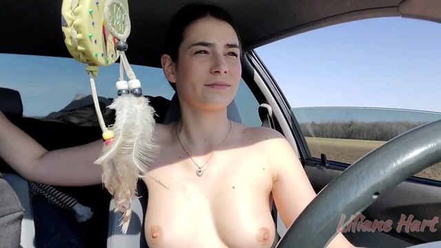 Liliane Hart - Driving Masturbation Part 2 00000