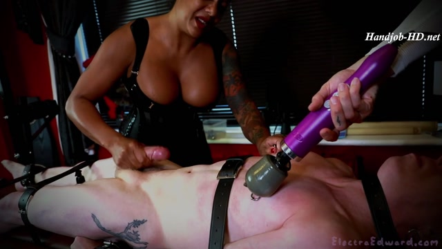 Made To Cum By Two Mistresses - Electra Edward - HandJob 00014