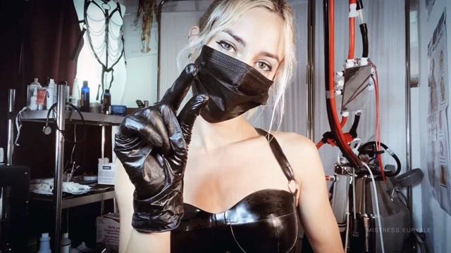 Mistress Euryale - Black Latex Glove Fetish JOI 00008